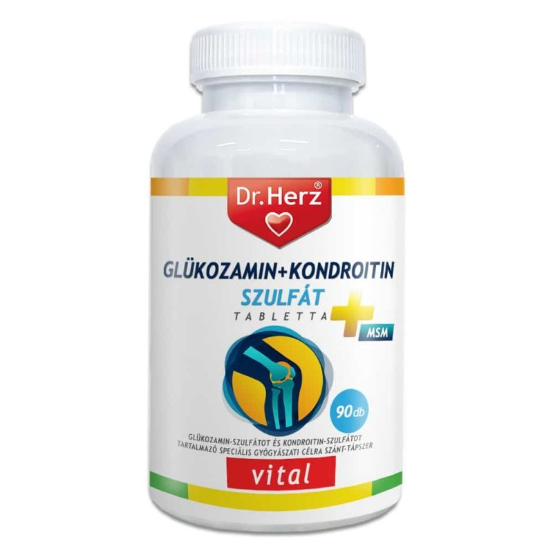 glükozamin-kondroitin-tartalmú készítmények
