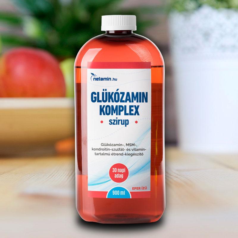készítmények kondroitin és glükozamin, valamint vitaminok)