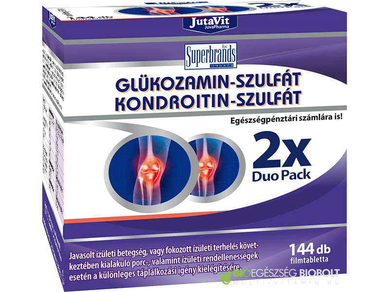 GLUCO PLUS WITH MSM BIOCOM - glükozamin és a kondroitin-szulfát természetes kénvegyülettel
