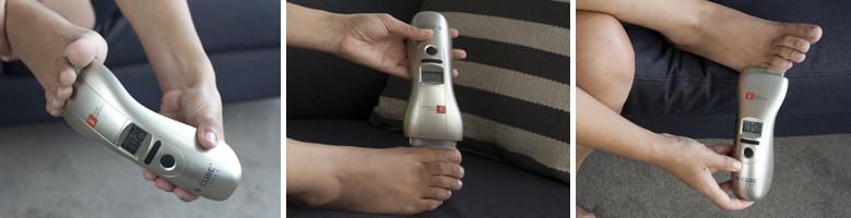 lábízületi kezelési eszköz