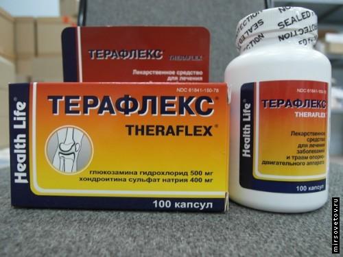 teraflex vagy glükozamin-kondroitin komplex