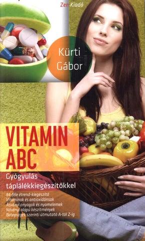 együttes kezelés vitaminokkal