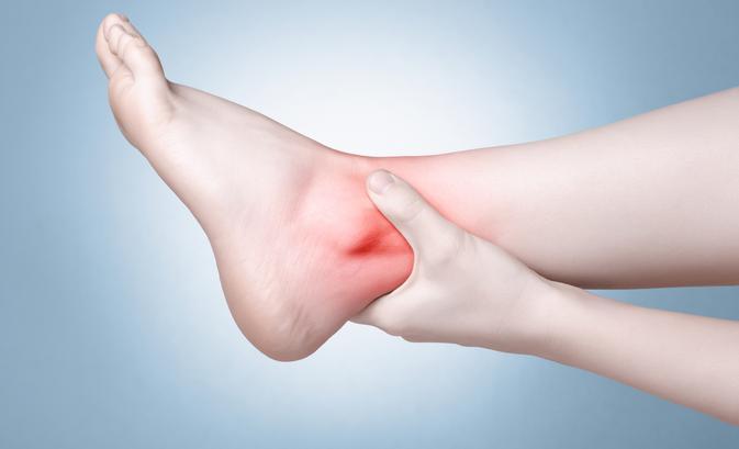 amely megsérti a lábak ízületeit