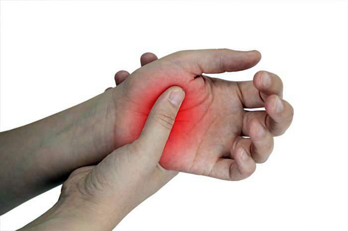 az ujjak kis ízületeinek gyulladása