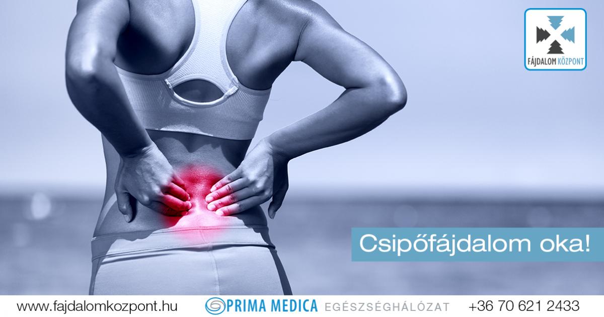fájdalom a csípőízület területén