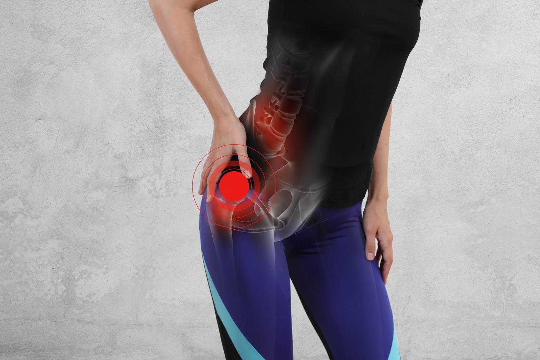 csípő és forgó fájdalom