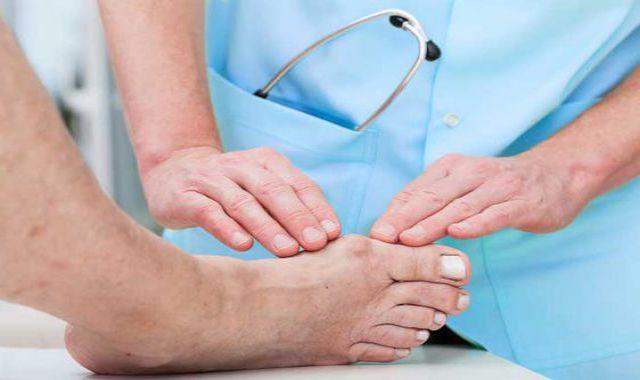 a láb artrózisának kezelése