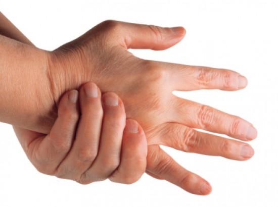 ujjak ízületeit, mint kezelni