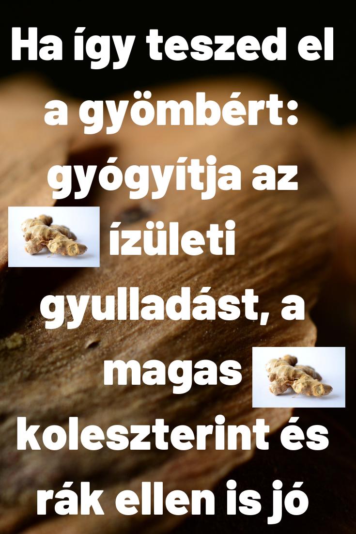 gyógyítani az ízületi gyulladást)
