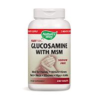 Glucosamine & Chondroitin with MSM (90 kap.)