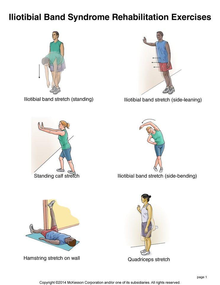 iliotibial band stretch)