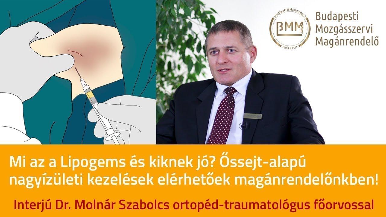 őssejt ízületi kezelések áttekintése)