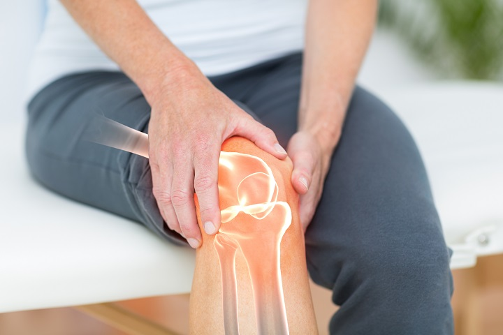 térdízület paraartikuláris lágy szöveteinek ödéma