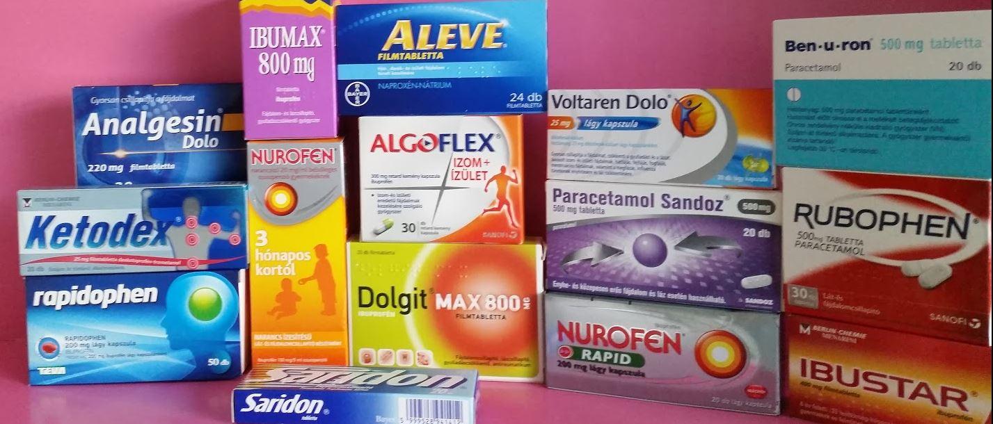 Fájdalomcsillapító és gyulladáscsökkentők