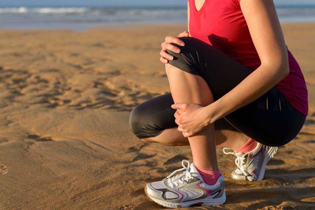 ízületi fájdalom a lábon futás közben