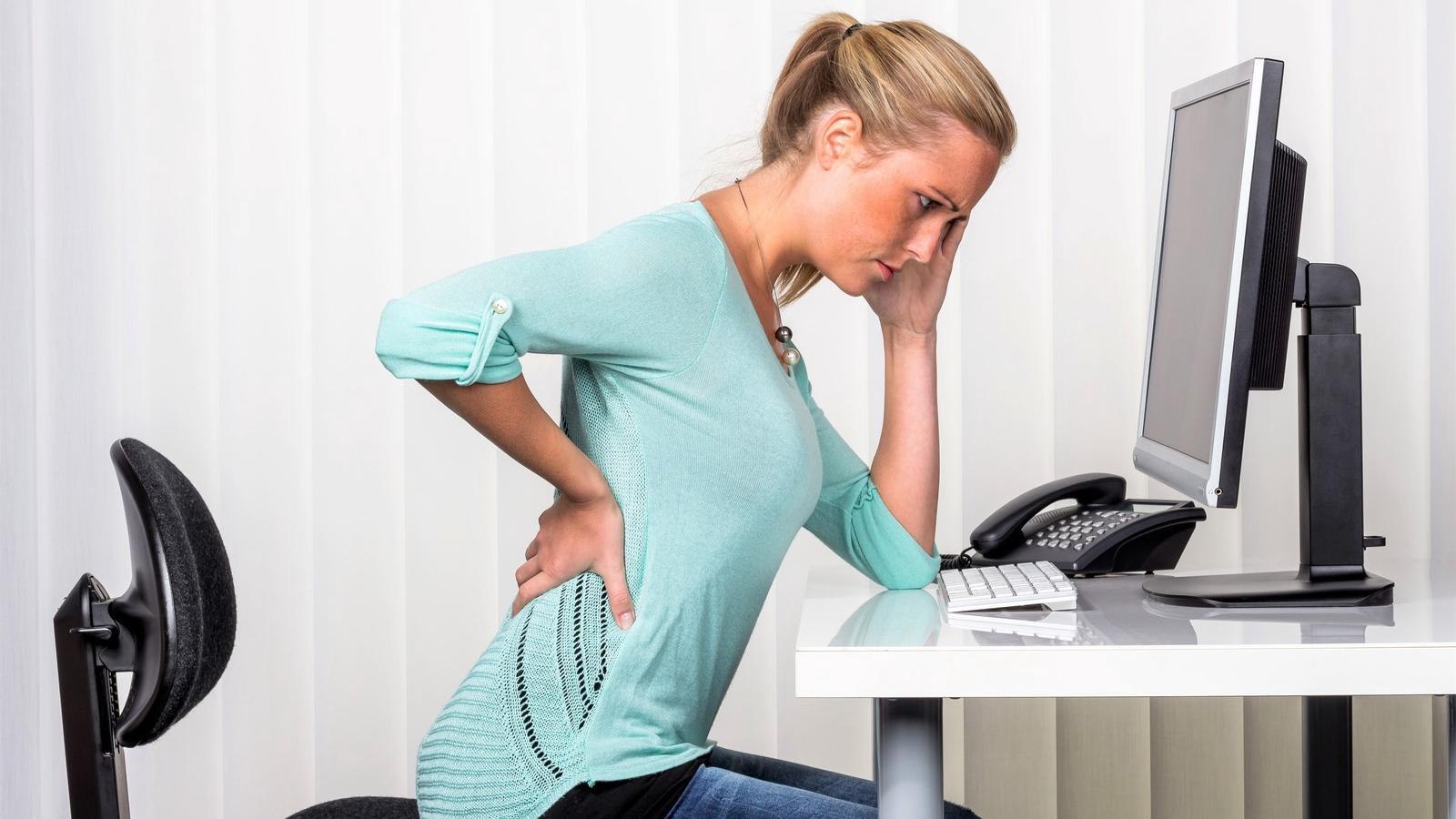 a csípőízület fáj az ülő munka miatt)