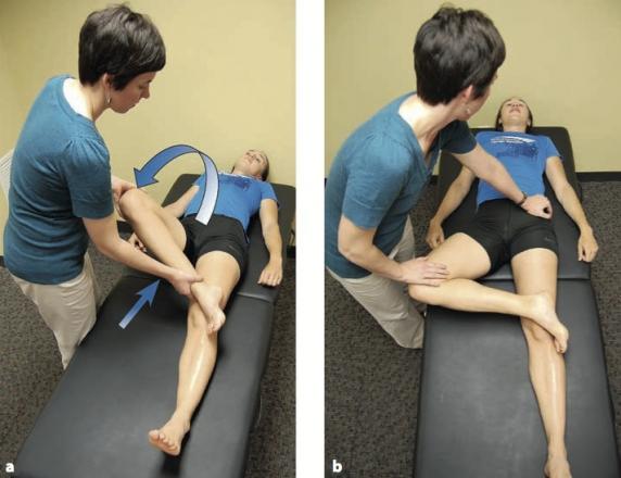 fájdalom a csípőízület elhúzódó járásával)